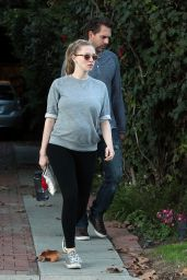 Amanda Seyfried - Leaving Her House in Studio City 1/15/ 2017