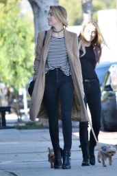 Amber Heard - Out in Los Feliz, LA 1/26/ 2017
