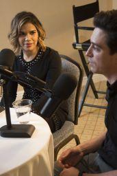 America Ferrera – Variety Podcast at TCA Winter Press Tour in Pasadena 1/18/ 2017