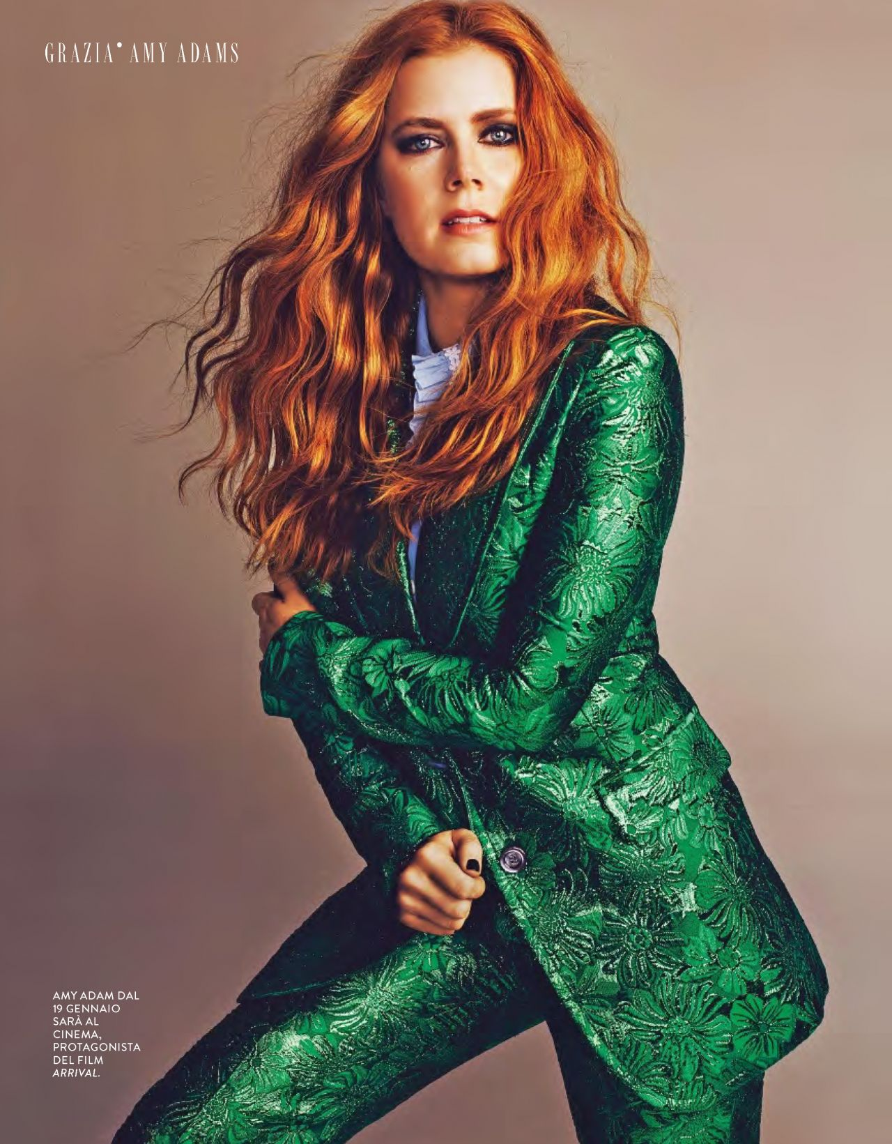 Amy Adams Grazia Magazine