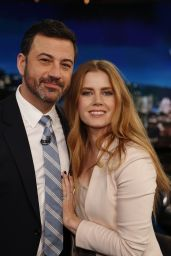 Amy Adams - Jimmy Kimmel Live 1/10/ 2017