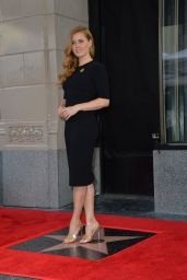 Amy Adams Walk of Fame Star Ceremony in Los Angeles 1/11/ 2017