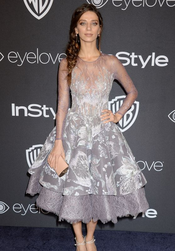 Angela Sarafyan – InStyle and Warner Bros Golden Globes After Party 1/8/ 2017