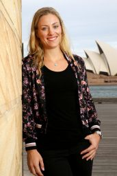 Angelique Kerber - Photoshoot in Sydney, January 2017