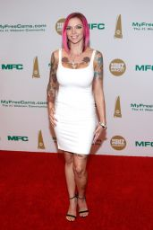 Anna Bell Peaks - XBIZ Awards at Hotel Westin Bonaventure in Los Angeles, January 2017