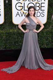 Anna Kendrick – Golden Globe Awards in Beverly Hills 01/08/ 2017