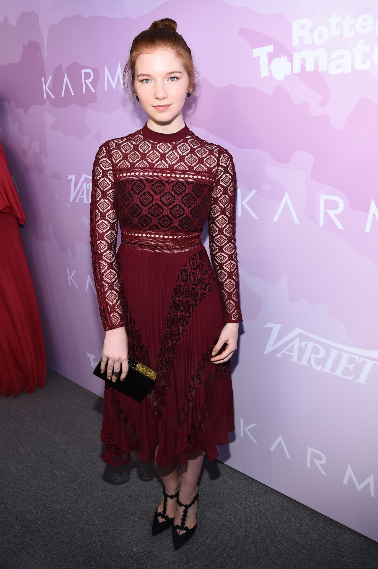 Annalise Basso Variety Awards Nominees Brunch In Los Angeles on Red Carpet Reporter