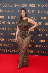 Ashley Graham – Miss Universe Red Carpet Presentation in Pasay City – Philippines 1/29/ 2017