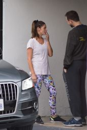 Ashley Greene at the Gym in Los Angeles 1/4/ 2017