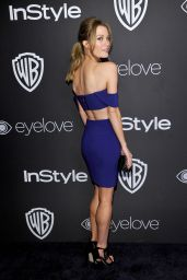 Ashley Hinshaw – InStyle and Warner Bros Golden Globes After Party 1/8/ 2017