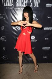 Bai Ling – Through My Father's Eyes: The Ronda Rousey Story Premiere in Hollywood 12/30/ 2016