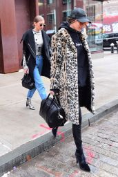 Bella Hadid and Gigi Hadid - Out in Manhattan 1/31/ 2017