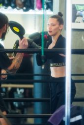 Bella Hadid - At The Gym in New York City 1/15/ 2017