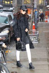 Bella Hadid - Leaving Her Apartment in New York 01/14/ 2017