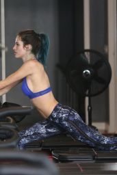 Bella Thorne at Pilates Class in Los Angeles 1/5/ 2017