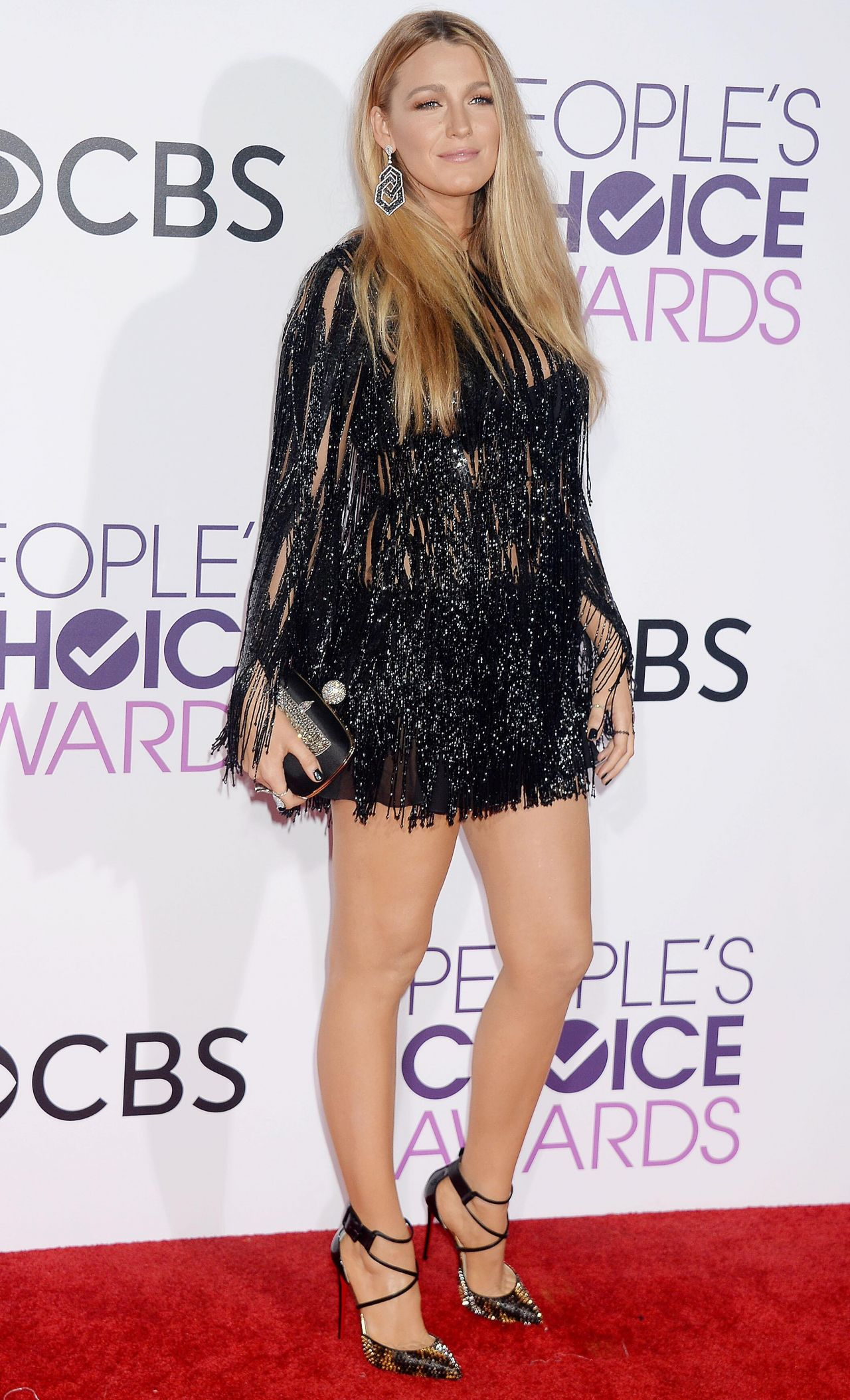 Blake Lively – People's Choice Awards in Los Angeles 1/18 ... Blake Lively