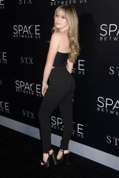 Brec Bassinger - The Space Between Us Premiere in Los Angeles 1/17/ 2017