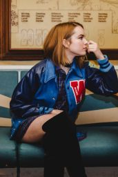 Bridgit Mendler - NKD Magazine Issue 67 January 2017