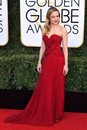 Brie Larson – Golden Globe Awards in Beverly Hills 01/08/ 2017