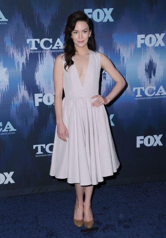 Britt Lower – FOX Winter TCA All Star Party in Pasadena, CA 01/11/ 2017