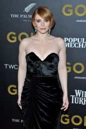 Bryce Dallas Howard - Gold Premiere in New York 1/17/ 2017