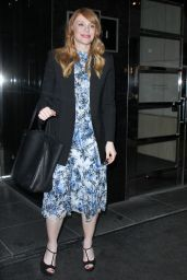 Bryce Dallas Howard - Outside of Her New York Hotel 1/18/ 2017