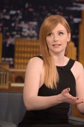 Bryce Dallas Howard - The Tonight Show Starring Jimmy Fallon in New York City 1/16/ 2017