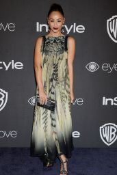 Cara Santana – InStyle and Warner Bros Golden Globes After Party 1/8/ 2017
