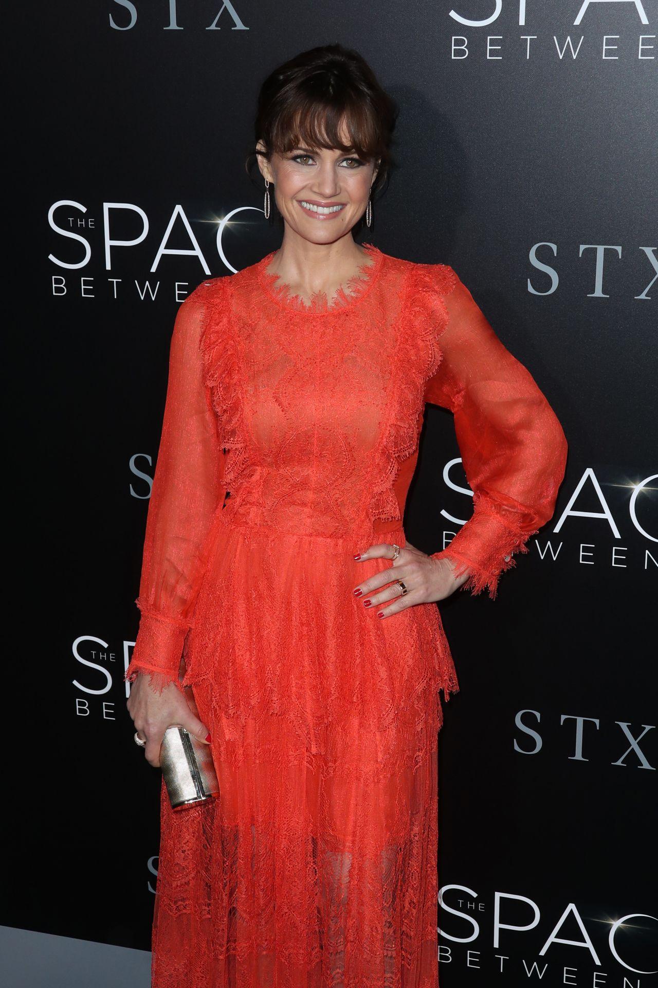Carla Gugino The Space Between Us Premiere In Los