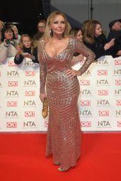 Carol Vorderman – National Television Awards in London 1/25/ 2017