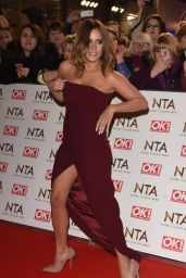 Caroline Flack – National Television Awards in London 1/25/ 2017