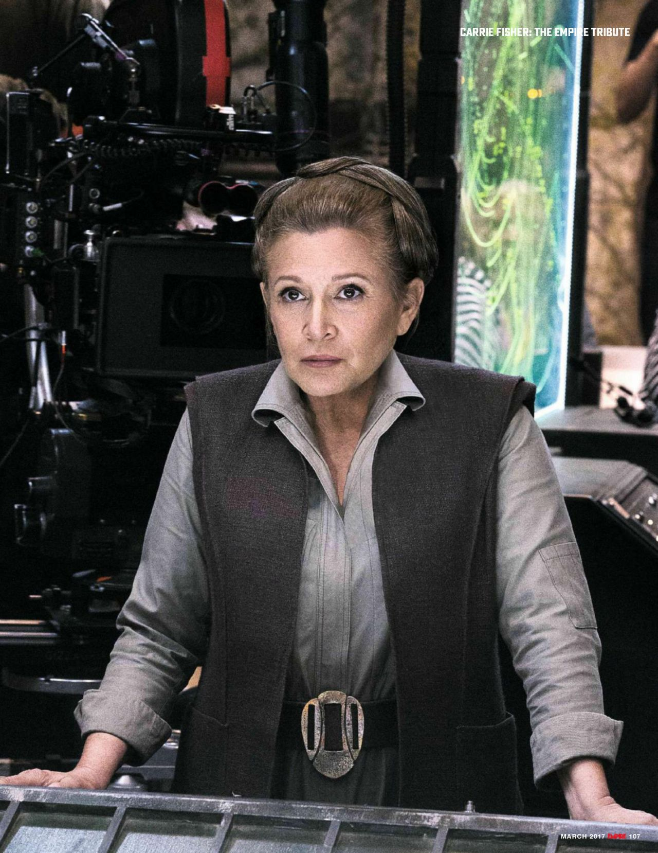 Carrie Fisher - Empire UK March 2017 Issue