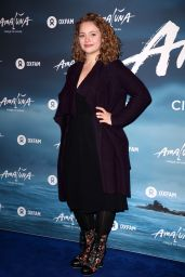 Carrie Fletcher – Cirque du Soleil 'Amaluna' Press Night in London 1/12/ 2017