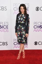 Caterina Scorsone – People's Choice Awards in Los Angeles 1/18/ 2017