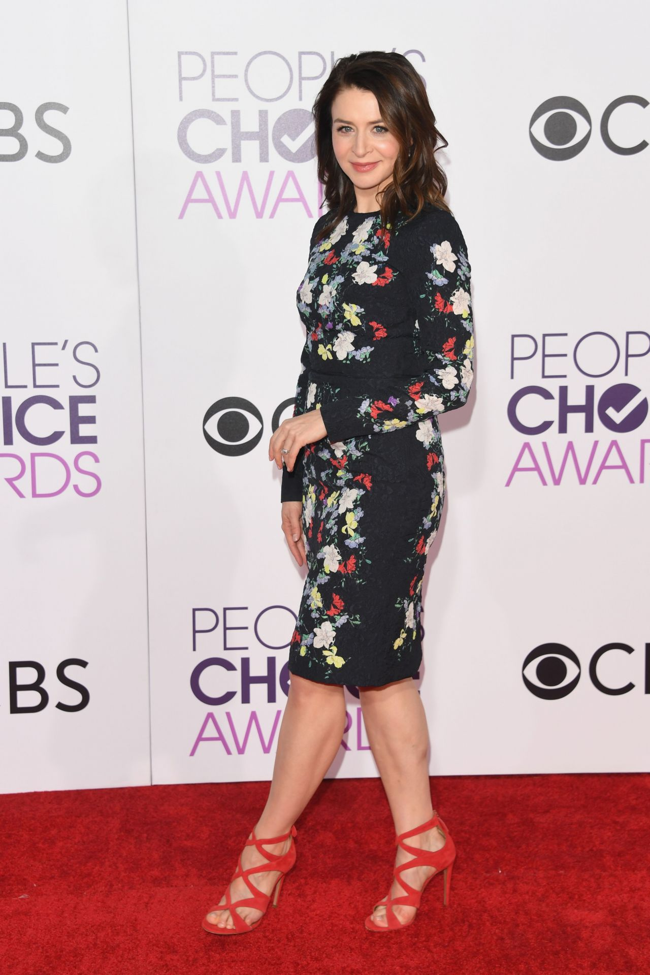 Caterina Scorsone People S Choice Awards In Los Angeles