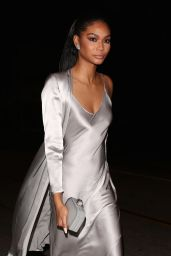 Chanel Iman at Catch LA in West Hollywood 1/9/ 2017