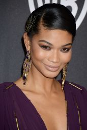 Chanel Iman – InStyle and Warner Bros Golden Globes After Party 1/8/ 2017