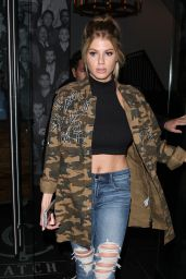 Charlotte McKinney at Catch in West Hollywood 1/20/ 2017