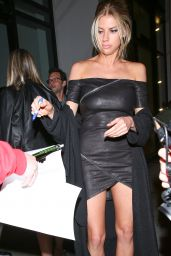 Charlotte McKinney at Catch LA in West Hollywood 1/9/ 2017