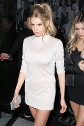 Charlotte McKinney Leaves Catch Restaurant in West Hollywood 1/27/ 2017