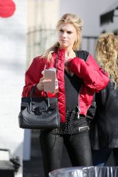 Charlotte McKinney - Out in Studio City 1/12/ 2017