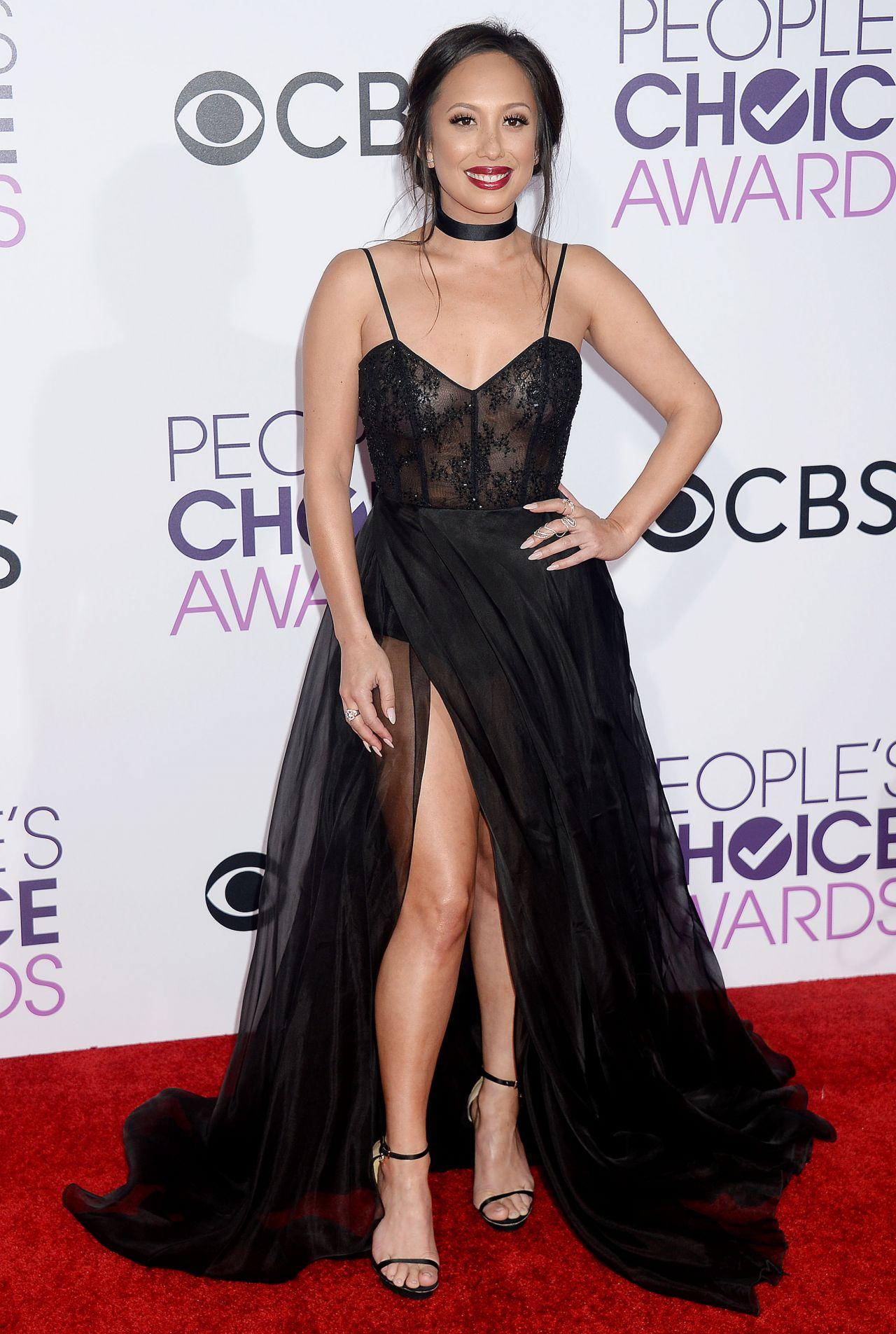 Cheryl Burke – People's Choice Awards in Los Angeles 1/18 ... Cheryl Burke