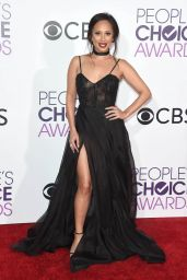 Cheryl Burke – People's Choice Awards in Los Angeles 1/18/ 2017