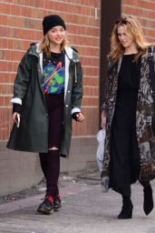 Chloe Moretz and Zoey Deutch - Out in Beverly Hills 1/5/ 2017