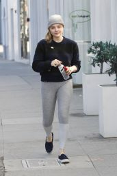 Chloe Moretz - Running on Her Way to Portofino Beverly Hills 1/14/ 2017