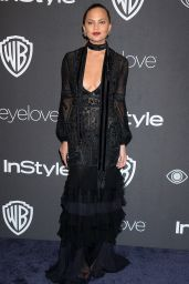Chrissy Teigen – InStyle and Warner Bros Golden Globes After Party 1/8/ 2017