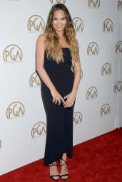 Chrissy Teigen – Producers Guild Awards in Beverly Hills 1/28/ 2017