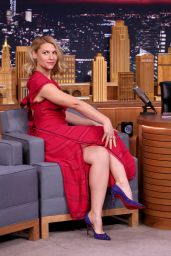 Claire Danes Appeared on The Tonight Show 1/13/ 2017