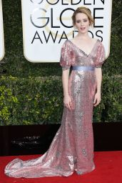 Claire Foy – Golden Globe Awards in Beverly Hills 01/08/ 2017