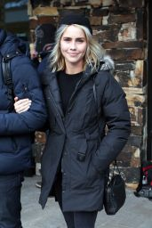 Claire Holt - Out During the 2017 Sundance Film Festival in Park City
